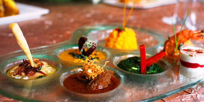 Pallette from The Song of India Indian Restaurant in Newton, Singapore
