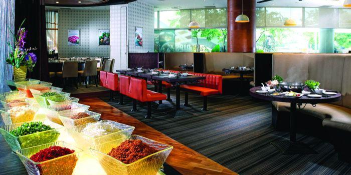 Interior of JPOT Restaurant in Vivocity on HarbourFront Walk Singapore