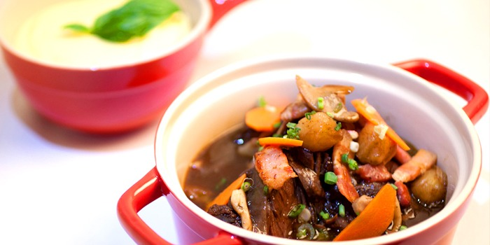 Beef Bourguinon from Taratata Bistrot serving French cuisine in Chinatown, Singapore