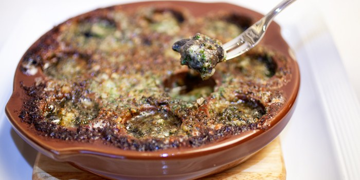 Escargot from Taratata Bistrot serving French cuisine in Chinatown, Singapore