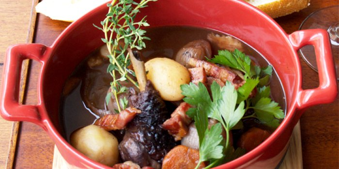 Coq Co Vin from Taratata Bistrot serving French cuisine in Chinatown, Singapore
