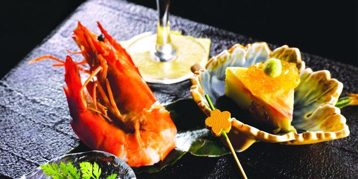 Appetizer at Takumi serving Japanese cuisine at Marina at Keppel Bay, Singapore