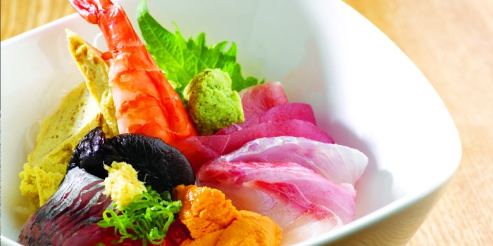 Chirashi from Takumi serving Japanese cuisine at Marina at Keppel Bay, Singapore