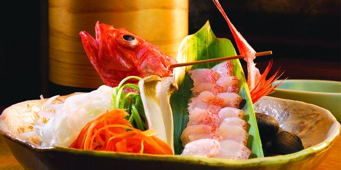 Food at Takumi serving Japanese cuisine at Marina at Keppel Bay, Singapore