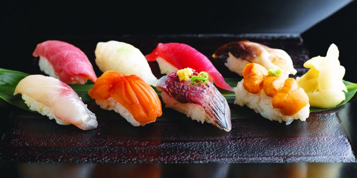 Sushi from Takumi serving Japanese cuisine at Marina at Keppel Bay, Singapore