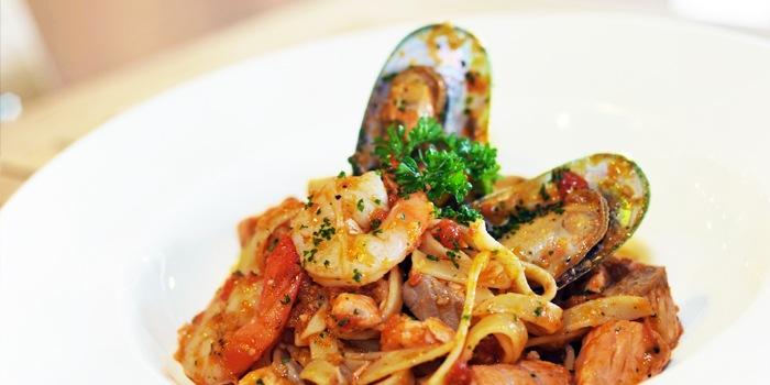 Seafood Marinara at Greenhouse Cafe in Design Hub at Tuas, Singapore