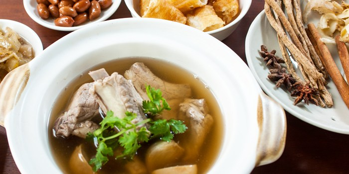 Bak Kut Teh at WOK at Design Hub in Tuas, Singapore