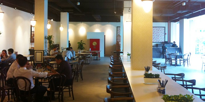Restaurant Interior at WOK at Design Hub in Tuas, Singapore