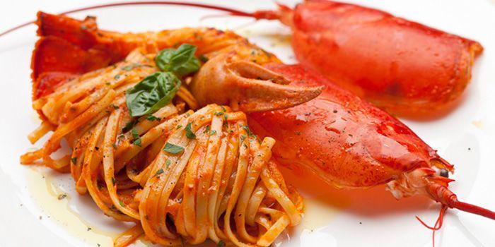 Image of the Lobster Linguine at Burlamacco Ristorante on Amoy Street, Singapore