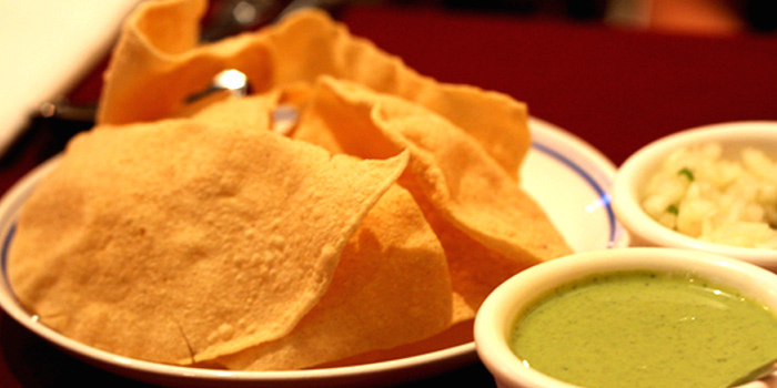 Papadum from Omar Shariff Authentic Indian Cuisine in Bukit Timah, Singapore