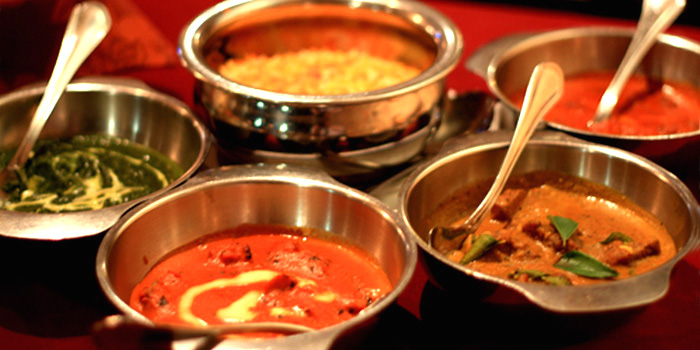 Food Spread from Omar Shariff Authentic Indian Cuisine in Bukit Timah, Singapore