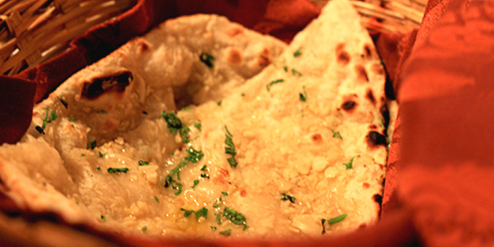 Garlic Naan from Omar Shariff Authentic Indian Cuisine in Bukit Timah, Singapore