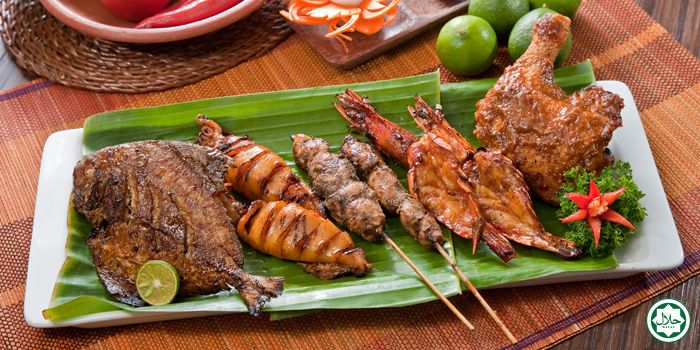 BBQ Platter from IndoChili on Zion Road, Singapore
