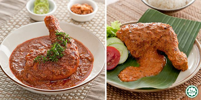 Curry Chicken from IndoChili on Zion Road, Singapore