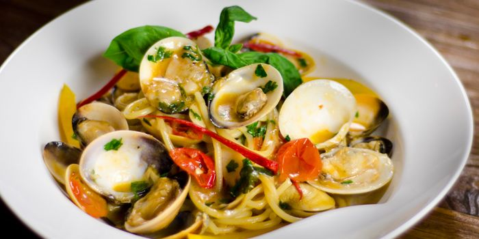 Vongole Falle from Noti Restaurant on Club Street, Singapore