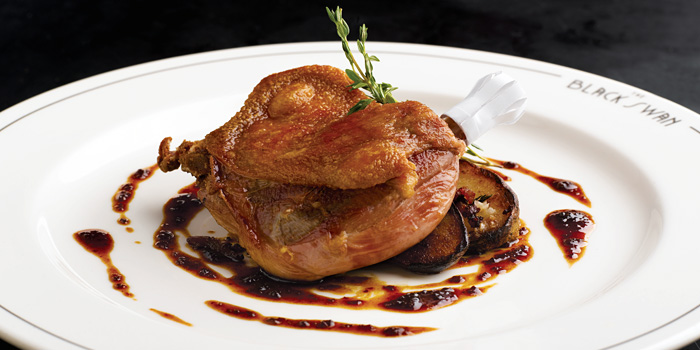 Duck Confit from The Black Swan at Cecil Street, Raffles Place, Singapore