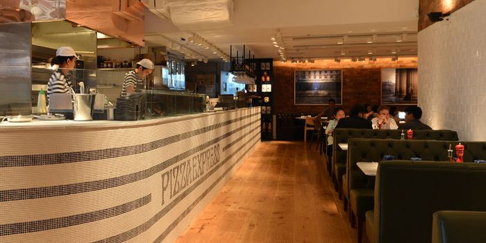 Interior, PizzaExpress Time Square, Causeway Bay, Hong Kong