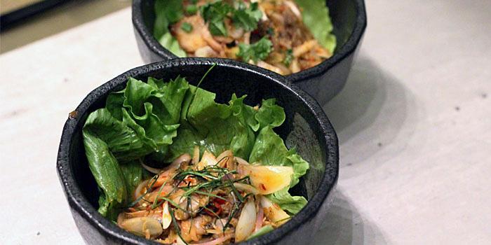 Cockle Salad of COCA Restaurant in Takashimaya on Orchard Road, Singapore