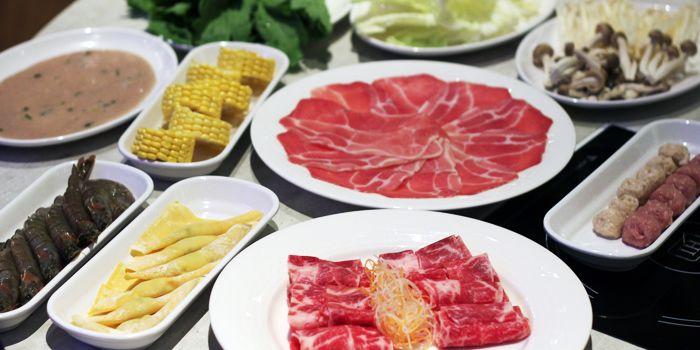 Food Spread 2 of COCA Restaurant in Takashimaya on Orchard Road, Singapore
