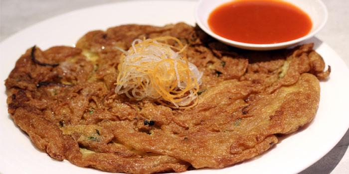Omelette of COCA Restaurant in Takashimaya on Orchard Road, Singapore