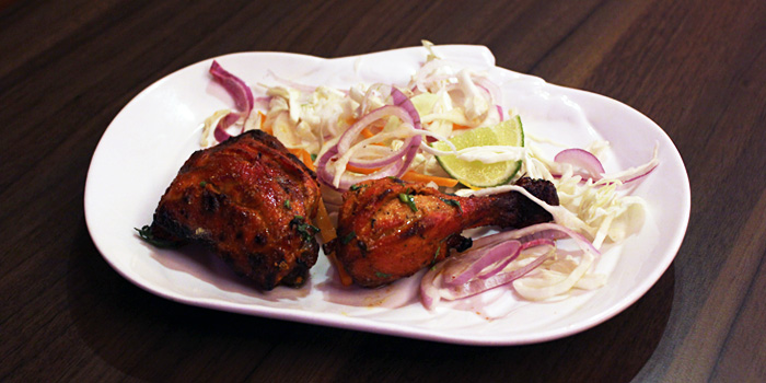 Chicken from Aromas of India in Little India, Singapore.