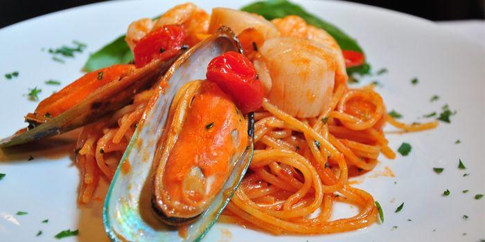Spagehtti Marinara, La Taverna Ristorante Italiano, Tsim Sha Tsui, Hong Kong