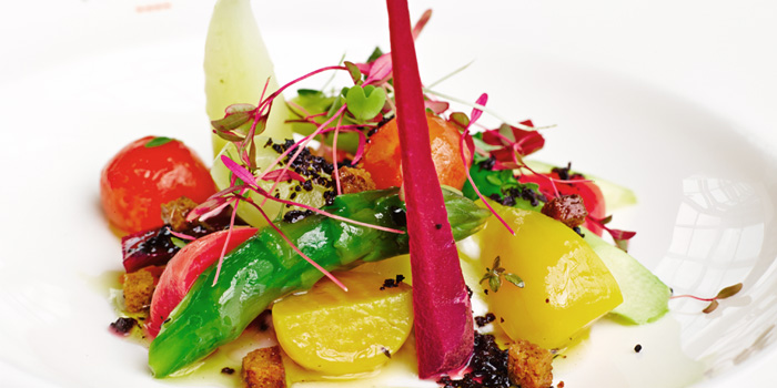 Vegetables from Salt grill & Sky Bar at ION Orchard, Singapore