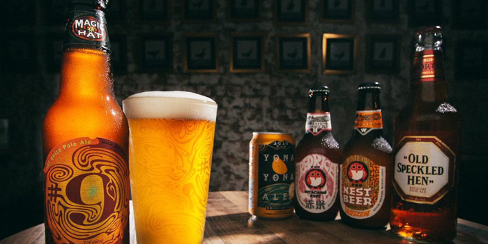 Beer from Coq & Balls in Tiong Bahru, Singapore