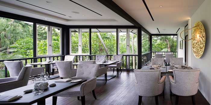 Verandah of Corner House in the Singapore Botanic Gardens, Singapore