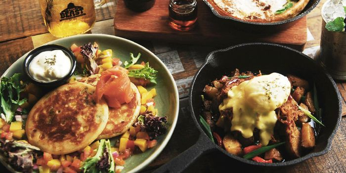 Brunch Dishes from The Beast in Bugis, Singapore