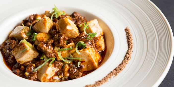 Mapo Doufu from ME@OUE in OUE Bayfront, Raffles Place, Singapore