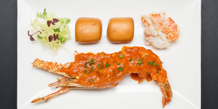 Red Lobster from ME@OUE in OUE Bayfront, Raffles Place, Singapore