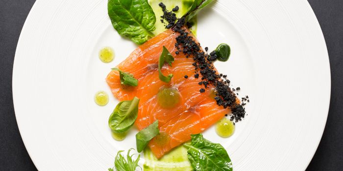 Salmon Gravlax from ME@OUE in OUE Bayfront, Raffles Place, Singapore