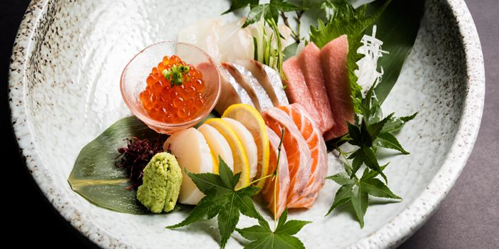 Sashimi Platter from ME@OUE in OUE Bayfront, Raffles Place, Singapore