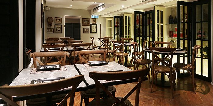 Cafe Siam interior 3, Central, Hong Kong
