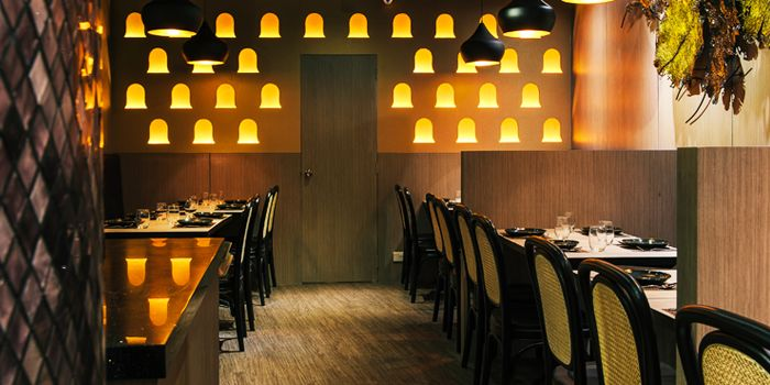 Interior of Nara Thai Cuisine (ION Orchard) in Orchard, Singapore