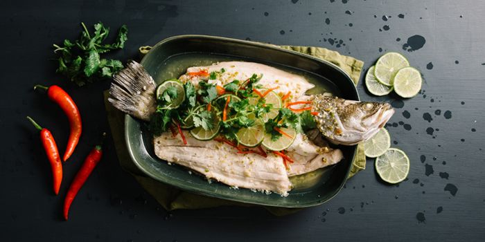 Lime and Chilli Seabass from Nara Thai Cuisine (ION Orchard) in Orchard, Singapore
