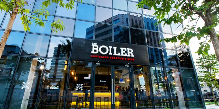 Exterior of The Boiler on Howard Road in Paya Lebar, Singapore