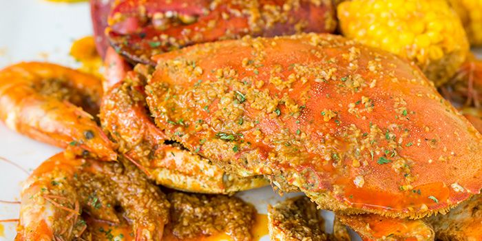Dungeness Crab from The Boiler on Howard Road in Paya Lebar, Singapore