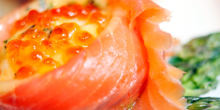 Salmon from Wild Honey in Mandarin Gallery in Orchard, Singapore