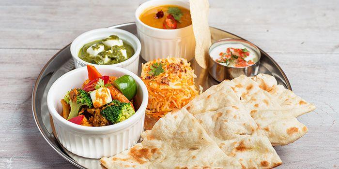 Vegetarian Naan Set from Zaffron Kitchen (Westgate) in Jurong East, Singapore from Zaffron Kitchen (Westgate) in Jurong East, Singapore