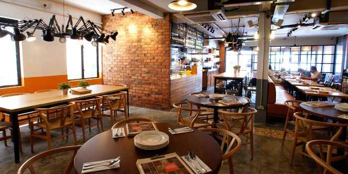 Interior of Zaffron Kitchen (East Coast) in East Coast, Singapore