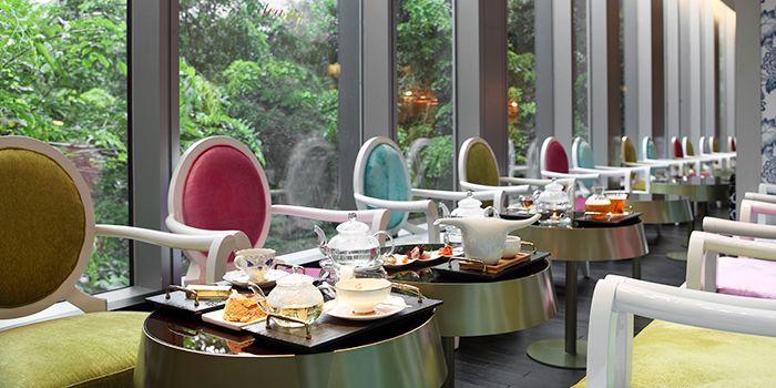 Interior of Arteastiq Boutique Tea House in Orchard, Singapore
