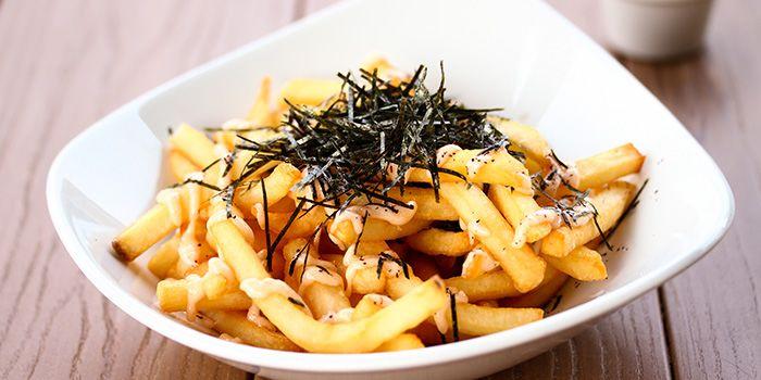 Mentaiko Fries from GRUB in Ang Mo Kio, Singapore