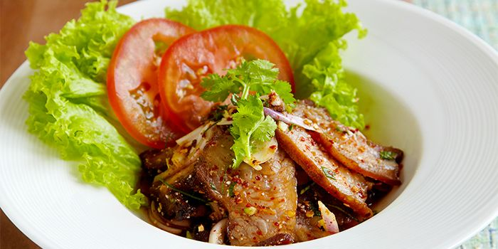 Pork Salad from COCA Restaurant in Kallang Leisure Park, Singapore