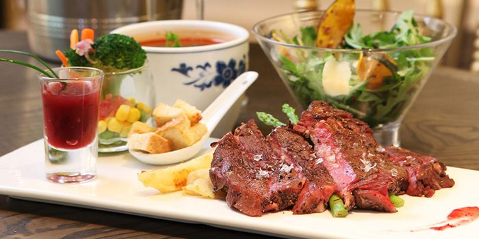 Ribeye from Arteastiq Boutique Tea House in Orchard, Singapore