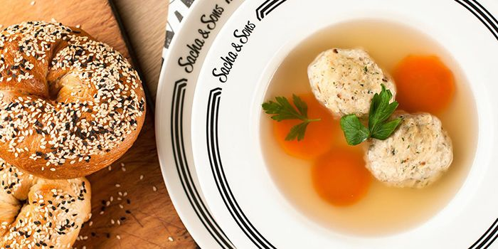 Matzo Ball Soup from Sacha & Sons in Orchard, Singapore