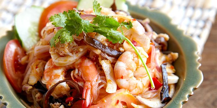 Seafood Salad from COCA Restaurant in Kallang Leisure Park, Singapore