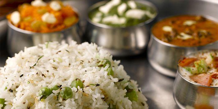 Thali from Raj Restaurant in Buona Vista, Singapore