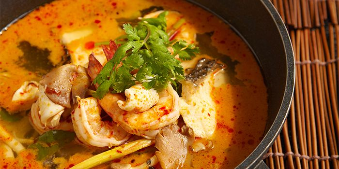 Tom Yum Soup from COCA Restaurant in Kallang Leisure Park, Singapore